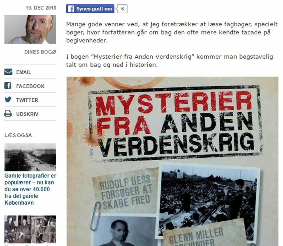 Mysterier fra Anden Verdenskrig